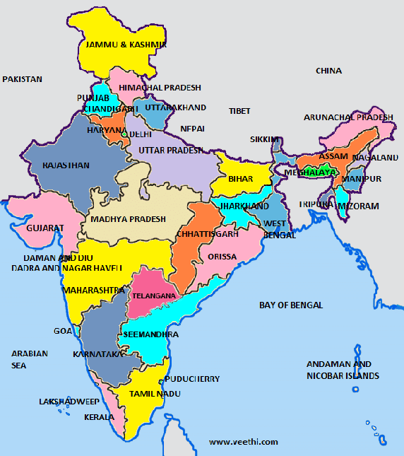 recent map of india with states and union territories How Many States And Union Territories Are There In India Quora recent map of india with states and union territories