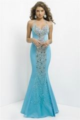 Aqua spaghetti straps mermaid long prom dress sculpted stones evening gown with crisscross open back Style 9714 http://www.topdesignbridal.com/aqua-spaghetti-straps-mermaid-long-prom-dress-sculpted-stones-evening-gown-with-crisscross-open-back-style-9714_p3697.html