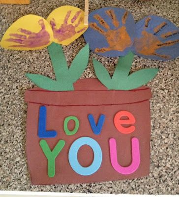 Fun mother's day, birthday, valentines day, etc...craft for kids to gift others with