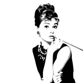 Audrey Hepburn canvas art pop art print | icons | Pinterest | Audrey ...