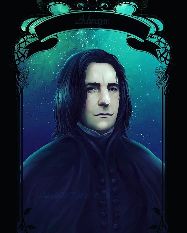 Farewell Ripalanrickman Alanrickman Severussnape Always