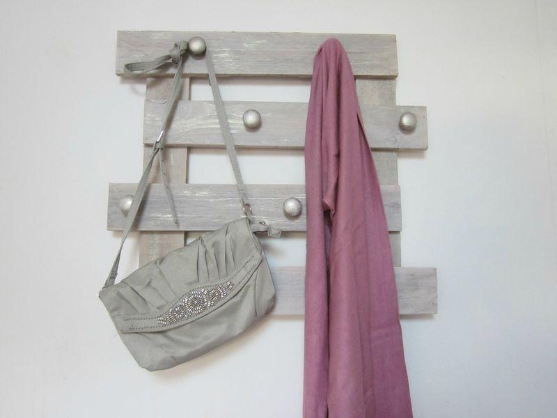 Porte manteau en bois de palettes -) Craft inspirations - DIY