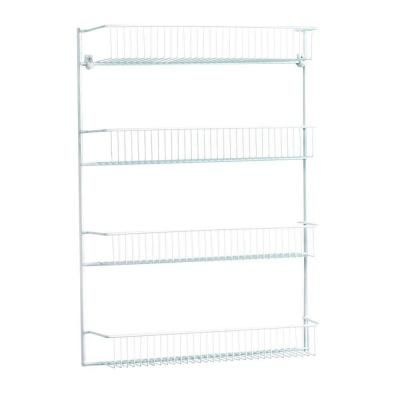 $19.48 ClosetMaid 26 in. 4-Tier Storage Rack-8033 - The Home Depot