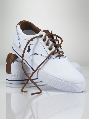 4b2049d5f36d4 Vaughn Canvas Sneaker - Polo Ralph Lauren Sneakers - RalphLauren.com ...