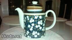 Arabia Taika series coffee pot (kannu). Huuto.net auction listing, 80€