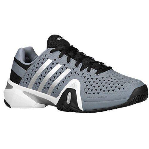 5932f33c8 Adidas Junior Adipower Barricade XJ Tennis Big Kid M-Solar Green Black Grey