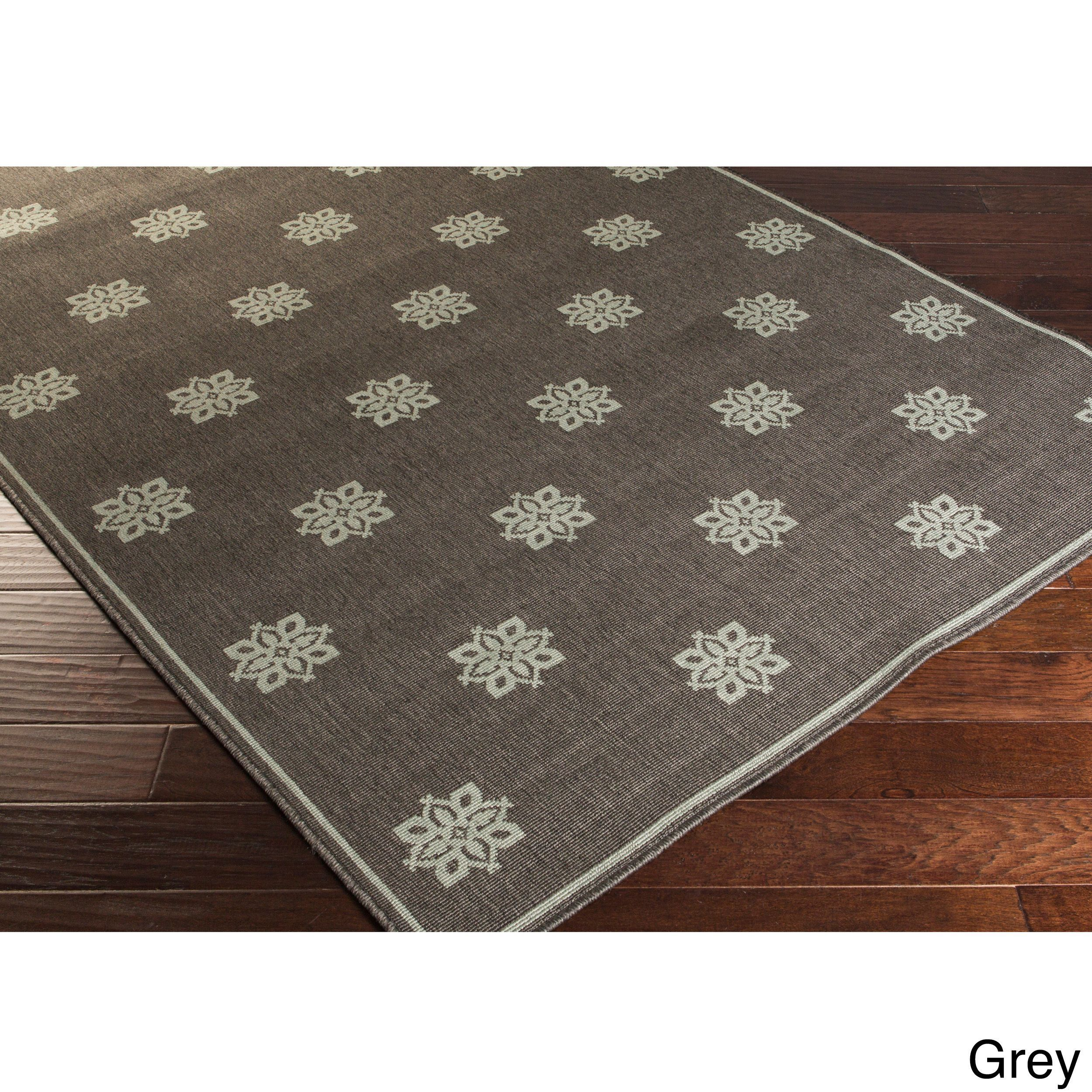 Meticulously Woven Jenna Contemporary Indoor/Outdoor Area Rug