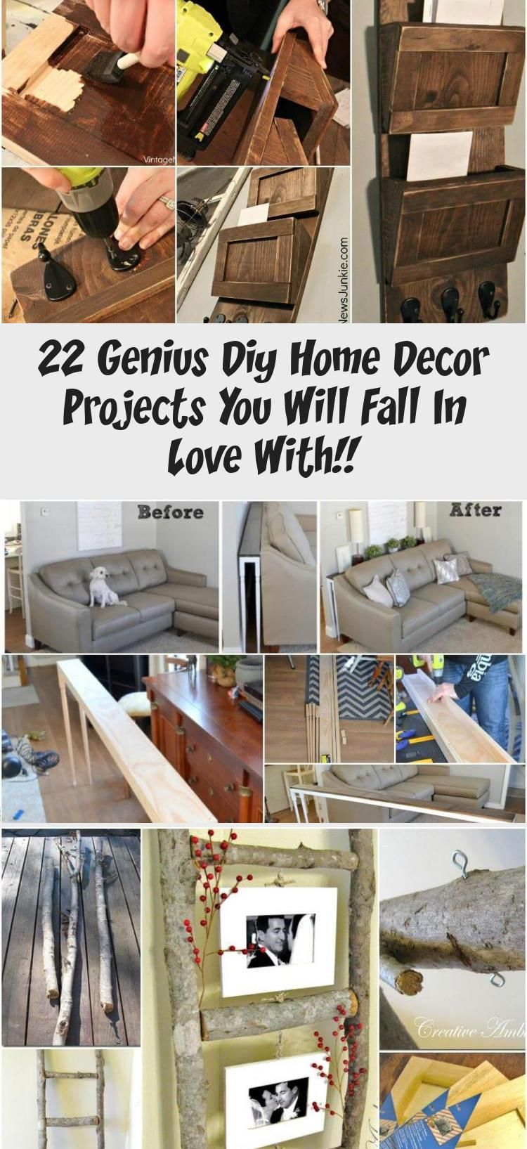 17 Genius Diy Home Decor Projects You Will Fall In Love With  Diy