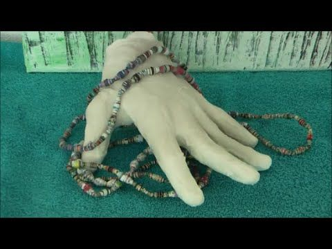 Diy Gipshand Gips Hand Aus Modellierbinden Basteln