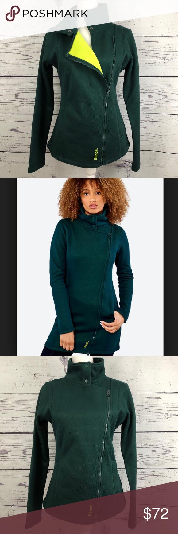 Bench Tally Asymmetrical Zip Funnel Long Jacket Women S Xs M Approximate Measurements 15 16 Shoulder To Shoulder Bench Jackets Long Jackets Asymmetrical Zip [ 1740 x 580 Pixel ]