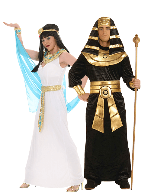 egyptian couples costumes