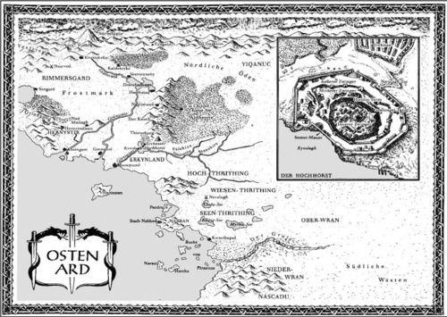 Osten Ard Karte