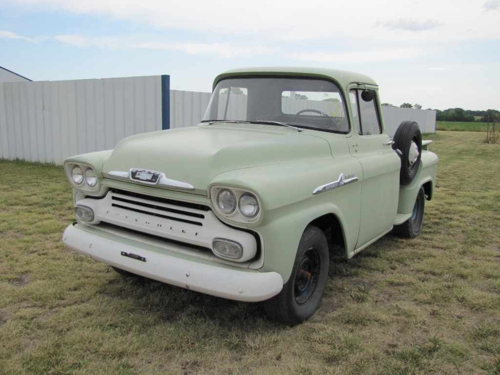 Truck 1955 chevy apache truck for sale : 1958 Chevy Apache – Brand New? | Namaste | Pinterest | Chevy ...