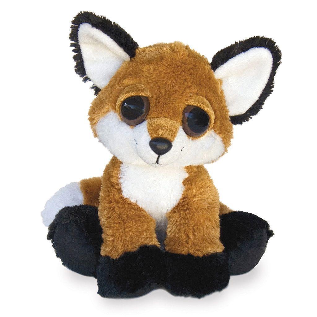Dreamy Eyes Feggan 10in Fox stuffed animal, Pet fox