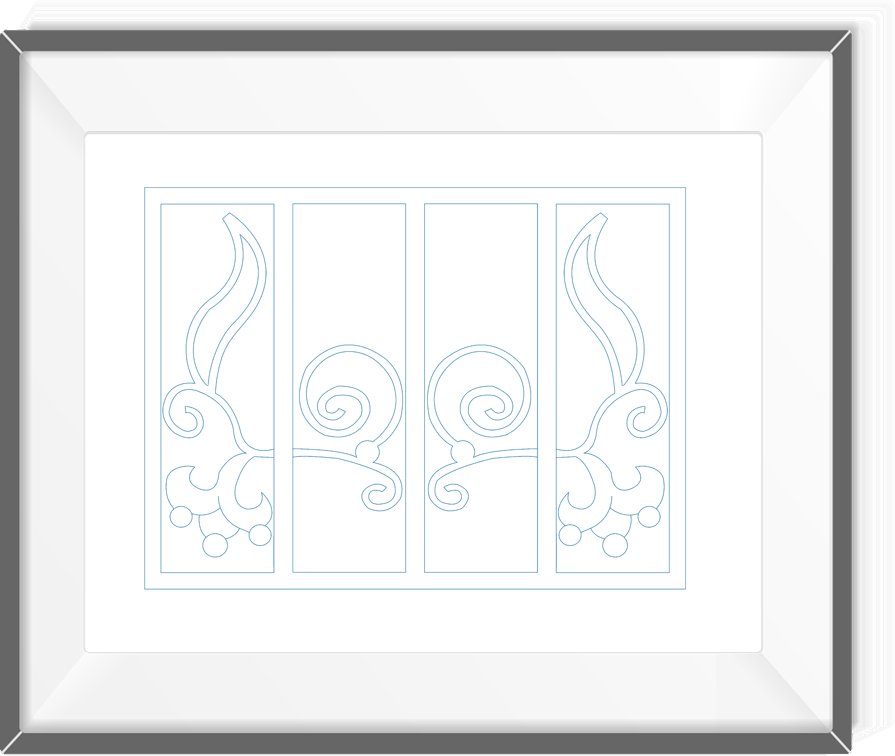 Room divider screen 09 real pen drawing by blueprints art room divider screen 09 real pen drawing by blueprints art malvernweather Images