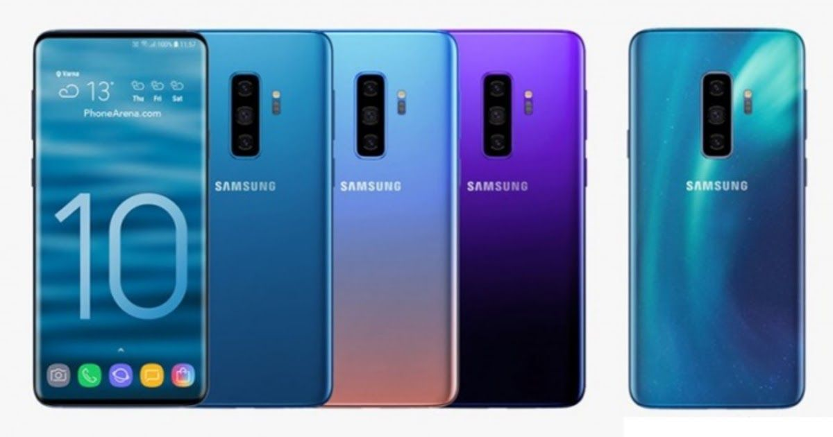 Galaxy S10 Will Arrive In 4 Color Options While The Galaxy