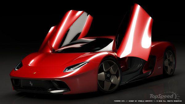 Awesome 2014 Ferrari GTE Virtual Concept By Angelo Granata