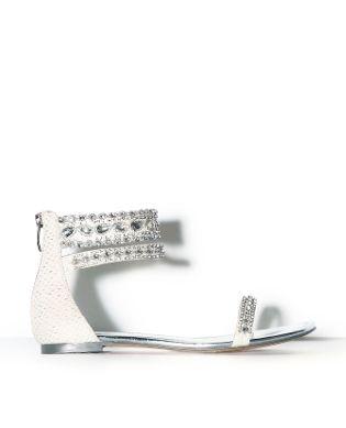 LISETTE WHITE - wedding shoes