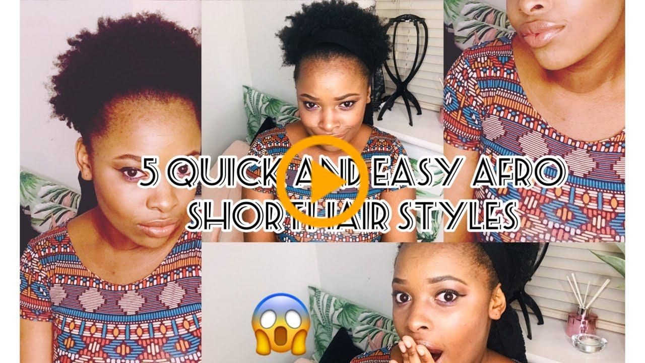 How To Style Your Hair Afro Hair Natural Short Hair Without Gel Or Wax Afro Gel Hair Natural Short Style Wax The Importance Of Hair Care H V 2020 G Pricheski