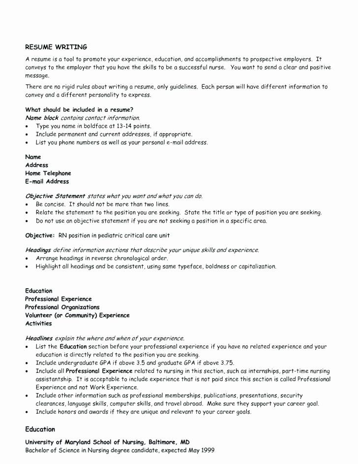 generic objective for resume fresh good general objective