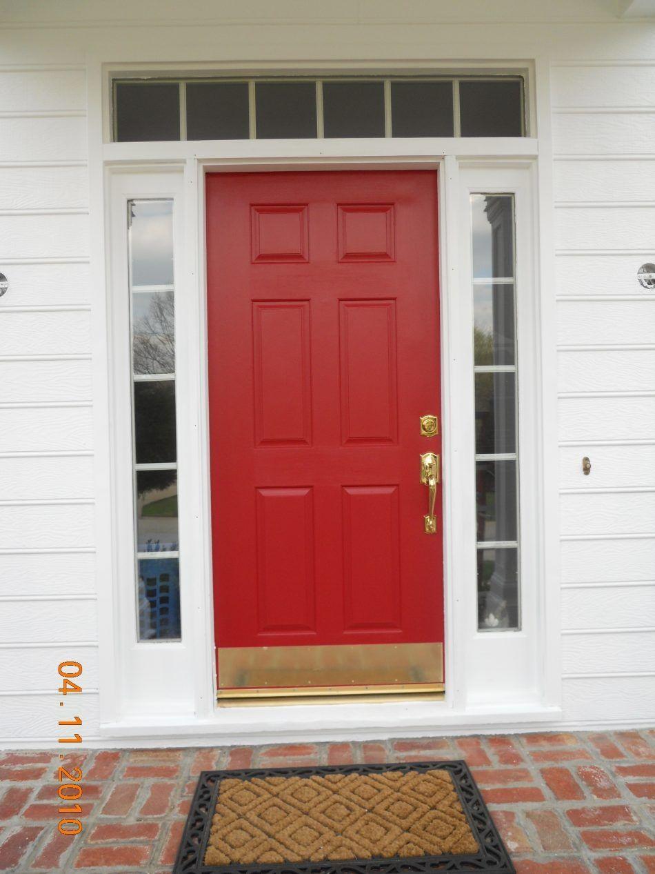 Great Magnetic Brass Kick Plate For Front Door