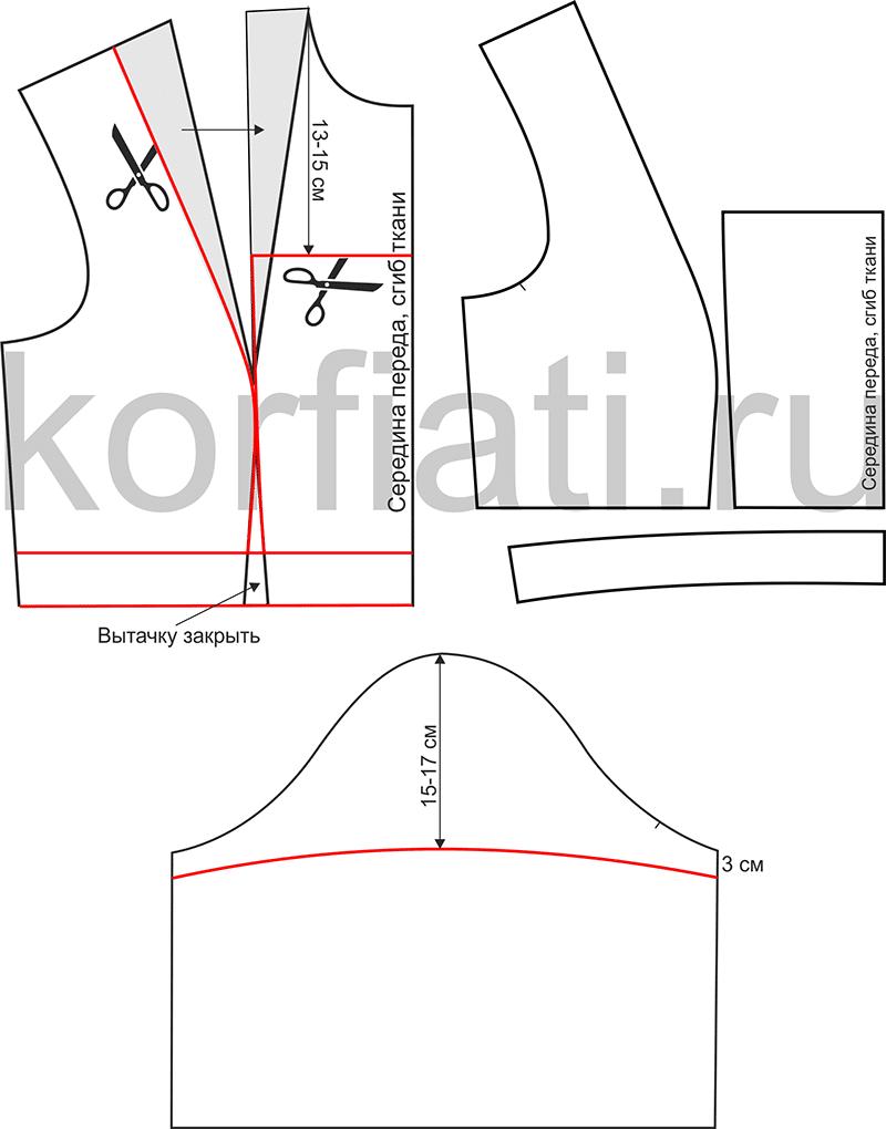 Выкройка панталон большого размера фото 327