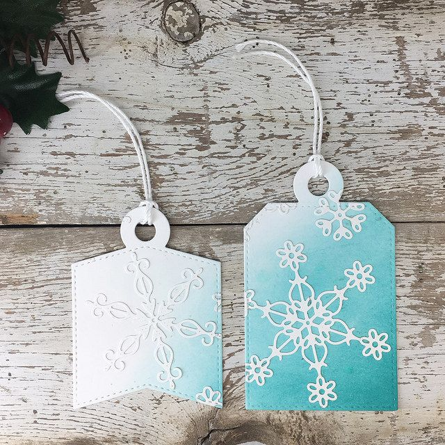 Tag Builder Blueprints 4 Die-namics, Stylish Snowflakes Die-namics - Laurie Willison  #mftstamps