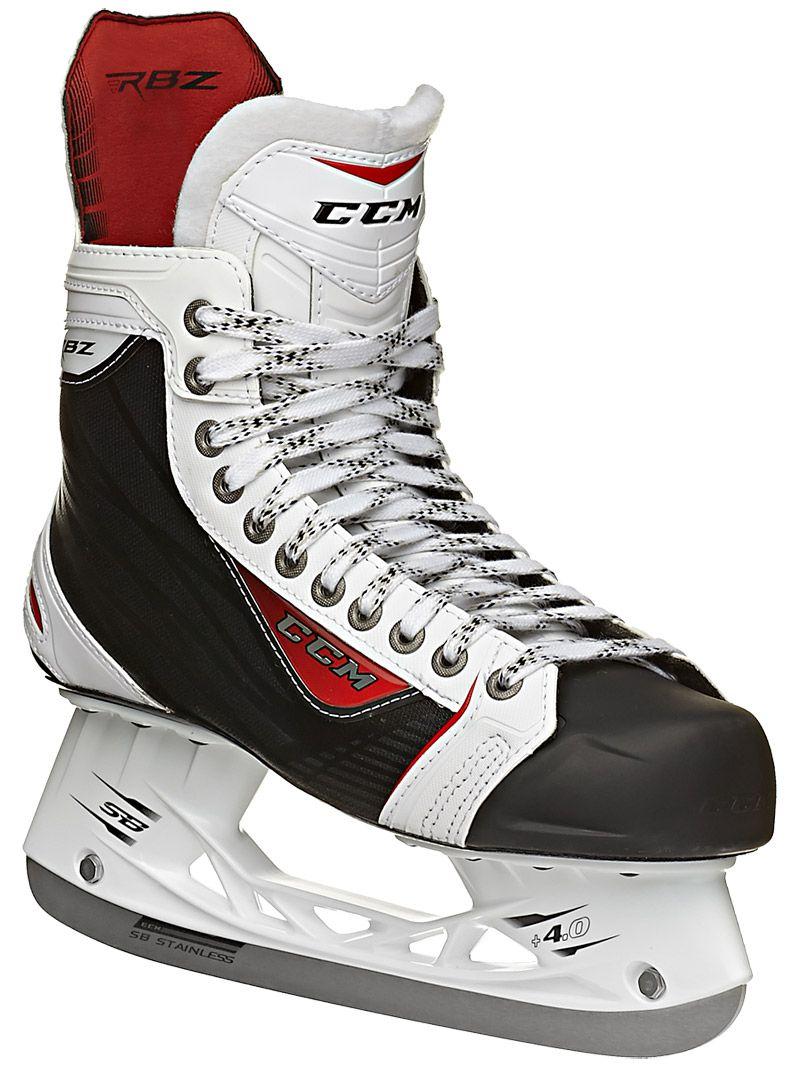 CCM RBZ 75 White LE Ice Hockey Skates Sr Ice hockey