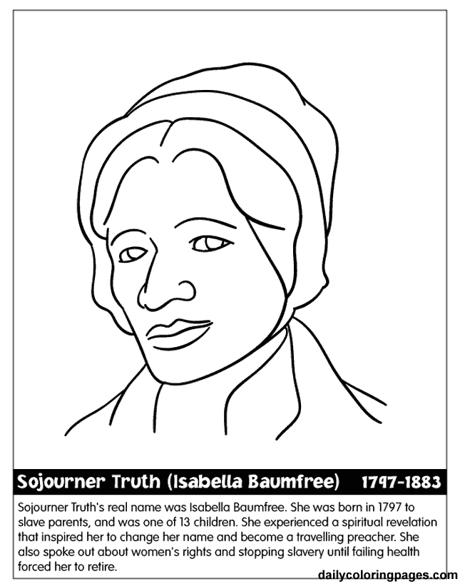 United States Black History Month Coloring Pages | New Years ...