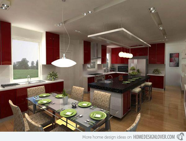 Attractive 20 Modern And Functional Kitchen Bar Designs Design