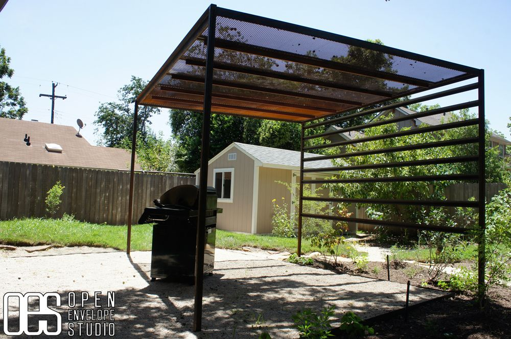 How to build steel pergola plans pdf woodworking plans for Shade arbor designs