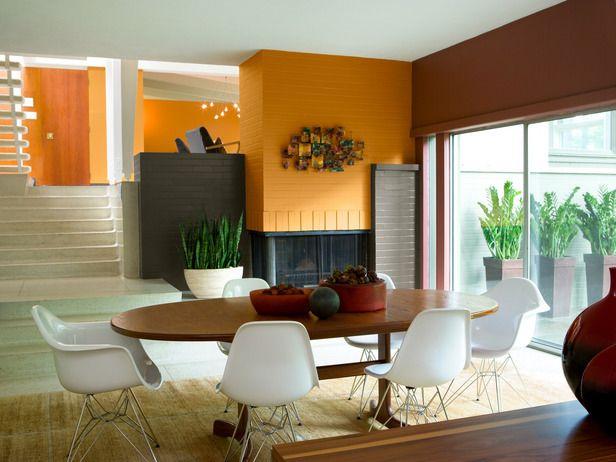 Home interior ideas pinterest sala comedor for Idea interior comedores