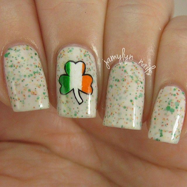 Irish Nail Art. #Saintpatricksday | Irish Roots | Pinterest | Irish ...