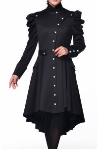 In Viktorianischem Gothic Jacken Style Military Mantel Look Pqp7E