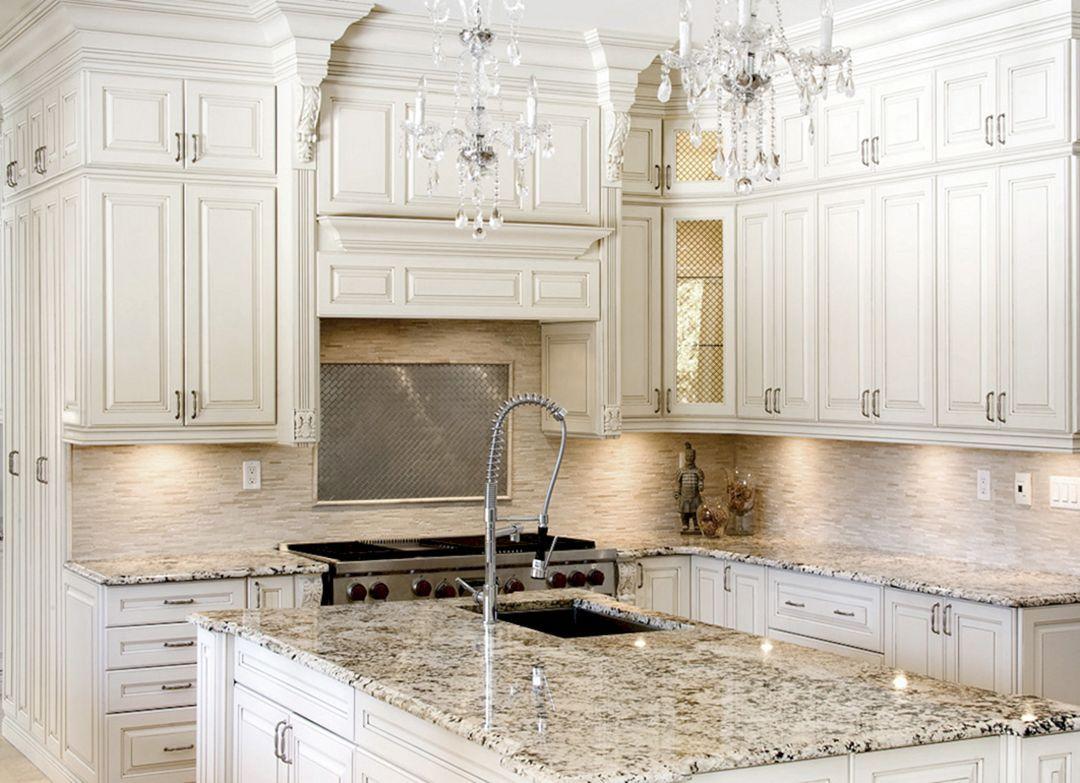 Elegant 25 White Kitchen For Kitchen Looks More