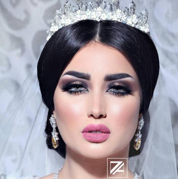 ARAB BRIDE - Google Search | Wedding Ideas | Wedding makeup ...
