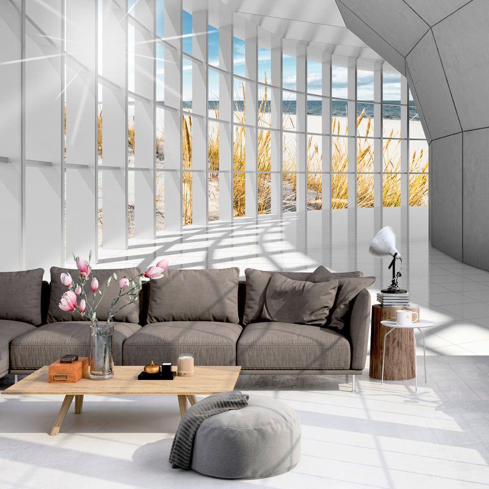 3D Tapeten Design vlies fototapete tapeten xxl wandbilder tapete 3d architektur c-c