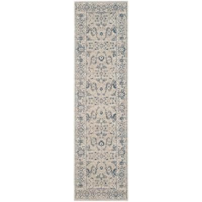 Safavieh Patina Light Gray Ivory 2 Ft X 12 Ft Runner Rug In 2019 Rugs Rug Runner Home Rugs