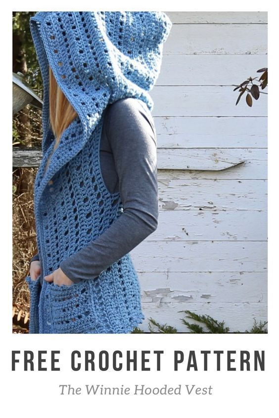 Photo of FREE Crochet Hooded Vest Beginner Pattern [Photo Tutorial] L