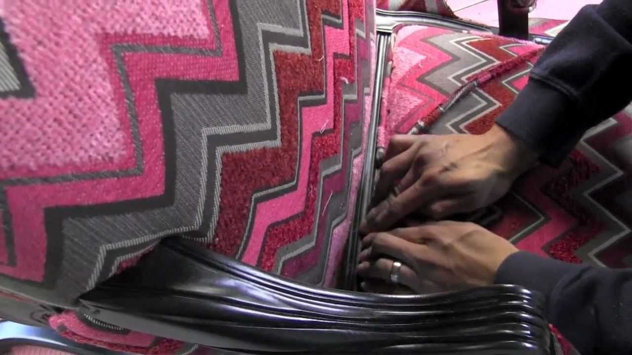 how to remove glue from fabric upholstery