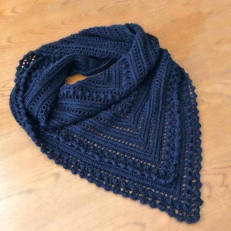 Easy, Modern Four Season FREE Crochet Shawl Pattern Images for 2019 - Daily Crochet!