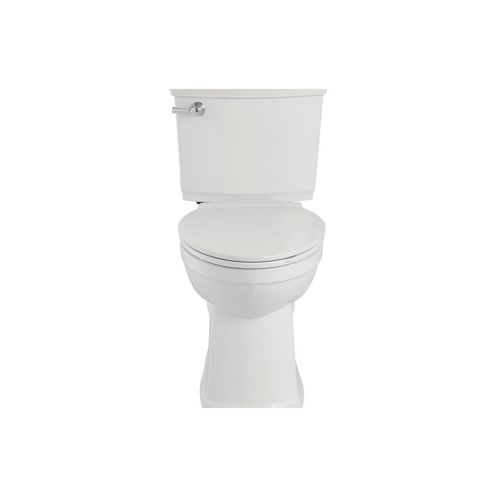 American Standard Vormax Plus Tall Height 2 Piece 1 28 Gpf Single Flush Elongated Toilet In White With Slow Close Seat 708aa101 020 In 2020 Self Cleaning Toilet Toilet Installation Toilet