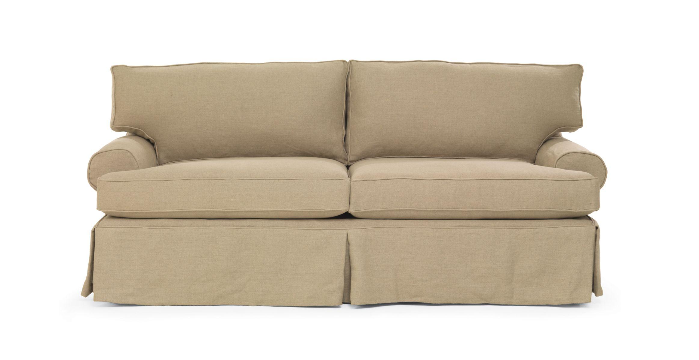 Mitchell Gold Bob Williams Nicki Sofa Slipcovered In Sophie