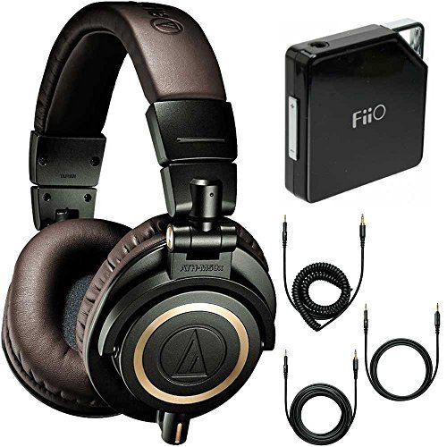 ATH-M50xDG Limited Edition Professional Headphones – Dark Green Amplifier Bundle – Includes FiiO E6 Portable Headphone Amplifier  http://www.instrumentssale.com/ath-m50xdg-limited-edition-professional-headphones-dark-green-amplifier-bundle-includes-fiio-e6-portable-headphone-amplifier/