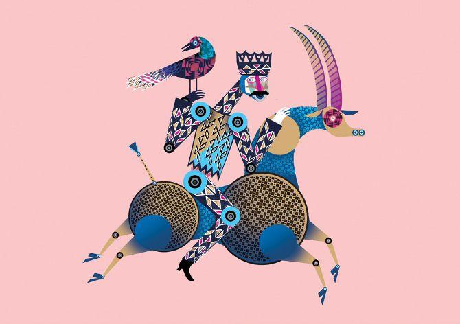 Digital Arts - Lesley Barnes Illustration