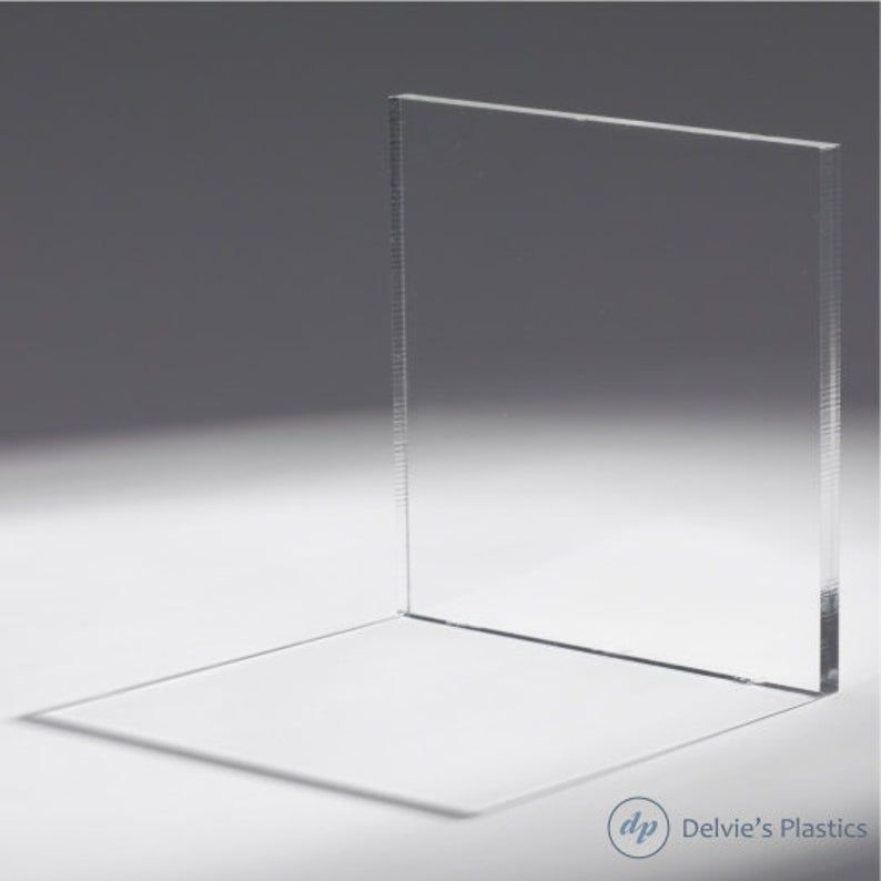 12 X 12 Inch Clear Plexiglass Sheet Pick Your Thickness Etsy In 2020 Plexiglass Sheets Clear Plexiglass Clear Acrylic Sheet