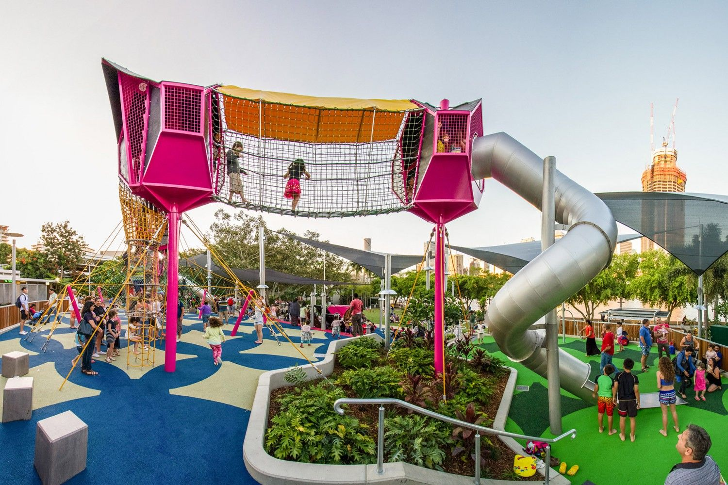 Commercial Playground Design | Riverside Green - South Bank | Urban ...