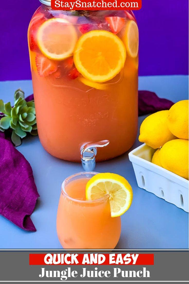 Easy Jungle Juice Recipe + {VIDEO}