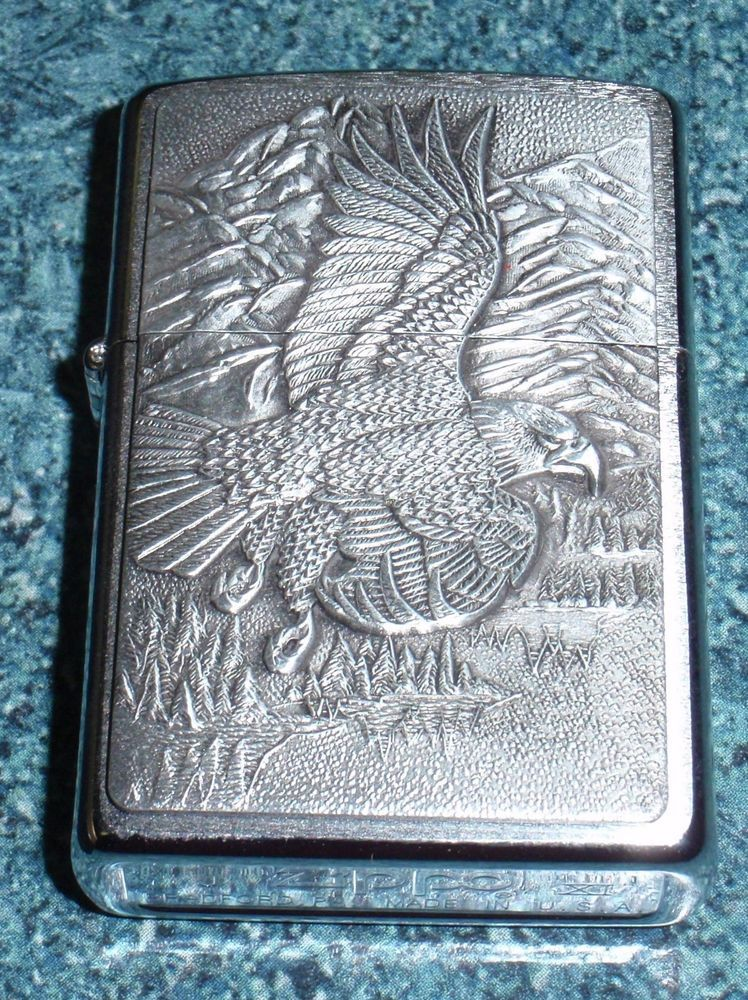 The American Eagle Zippo Lighter USA NEW WITH CASE Lot 2
