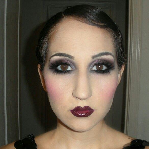 1920s inspired makeup harlem renaissance1920sart deco